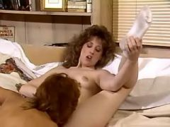 Lezzie with young tempting body