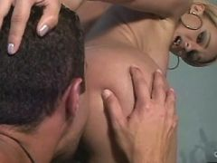 Yummy tgirl making sweaty tranny sex