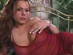 Porn adventure with lovely tranny doll