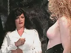 Fancy tranny roughly fucks