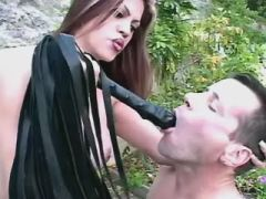 Adventure with transsexual beauty
