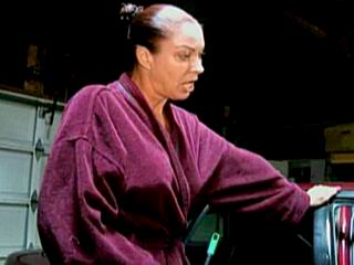 Porn adventure with old housewife
