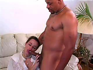 Horny mom blows and tastes some cum