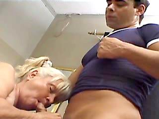 Milf enjoys cum on her pretty face