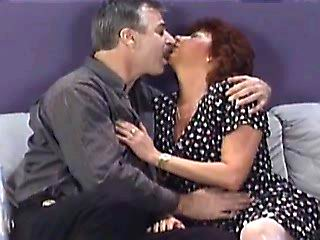 Dirty milf gets some cum in mouth