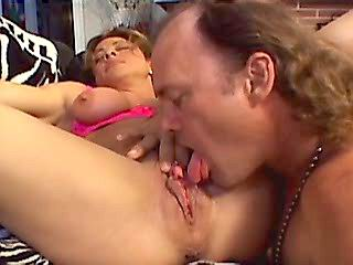 Dickride ends with cum on moms face