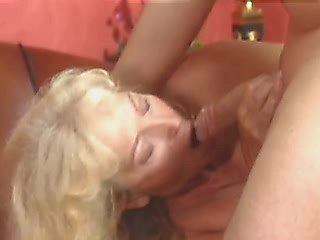 Horny marure swallows guys sword