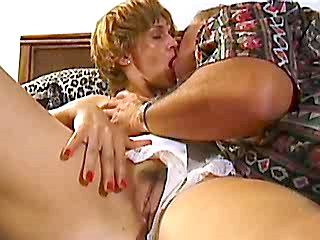 Mature gets fucked in all holes
